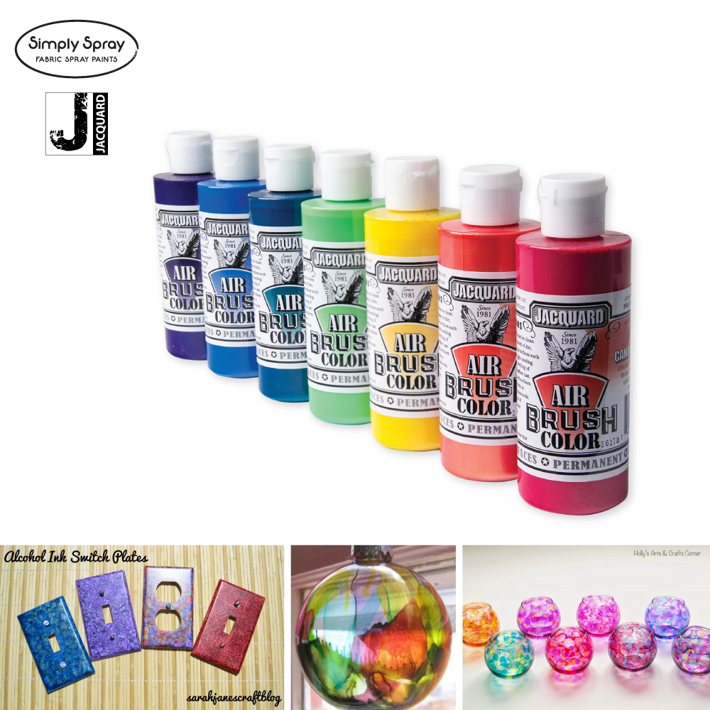 Jacquard airbrush colour
