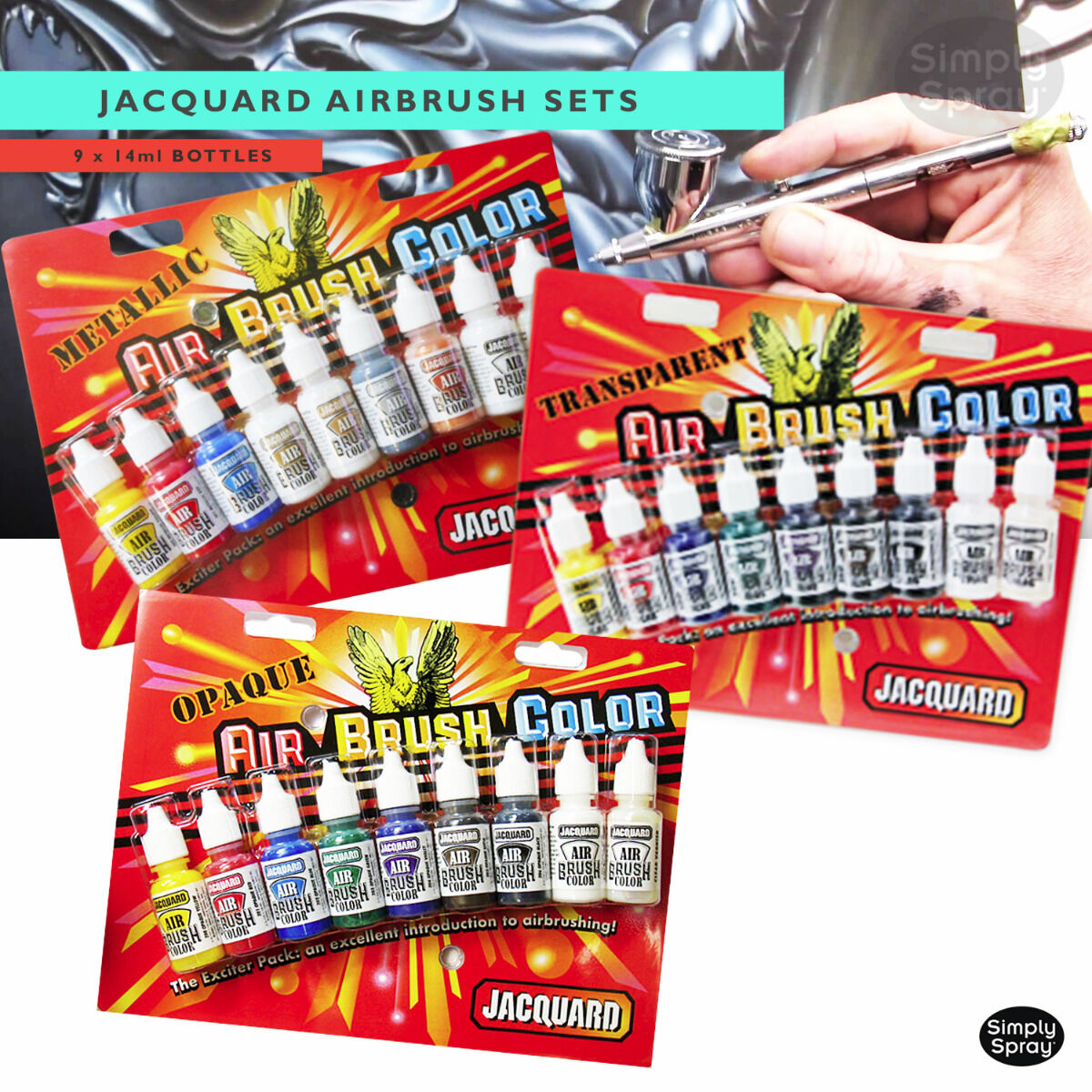 jacquard airbrush set