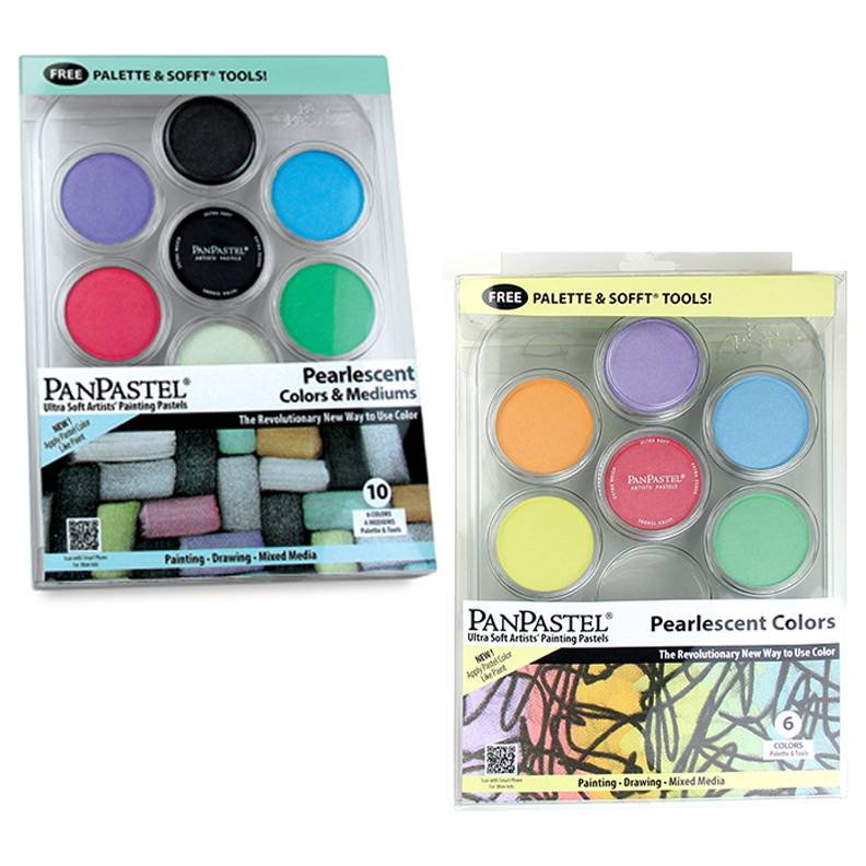PanPastel Pearlescent colours sets