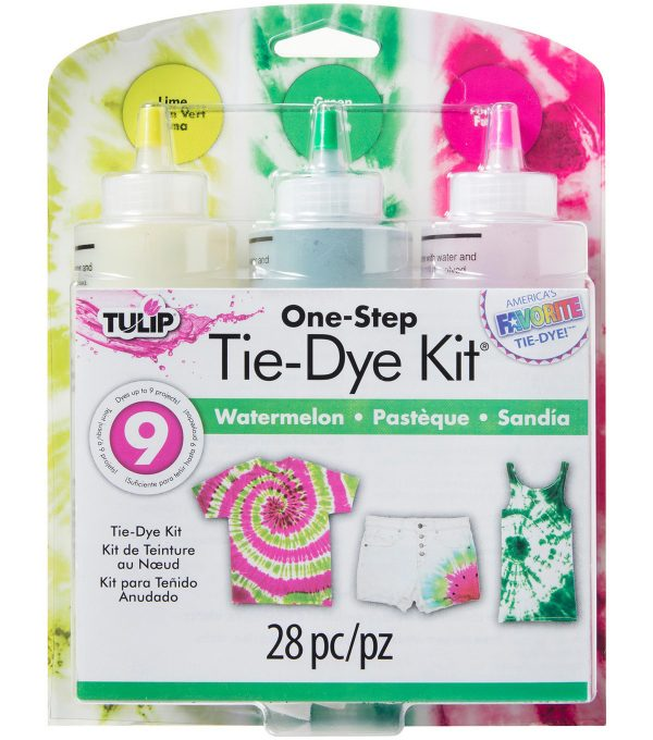 Tulip tie dye kit watermelon to decorate your t shirts