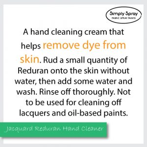 Jacquard Reduran Hand Cleaner - Removes dye from skin