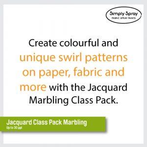 Jacquard marbling Class kit