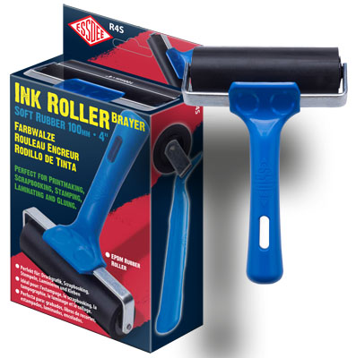 ESSDEE Fabric Roller - 100 mm Roller BLUE