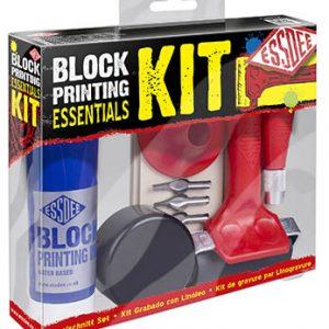 Essdee Block Printing Essentials Set Starter Kit