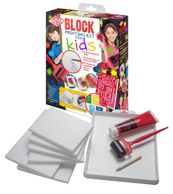 Essdee Block Printing for Kids