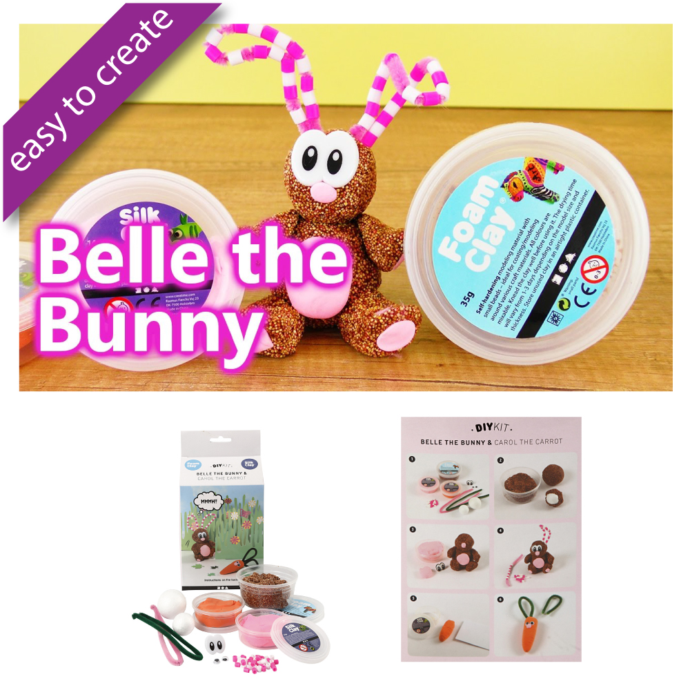 DIY-Kits-Animals-Belle the Bunny-Modelling