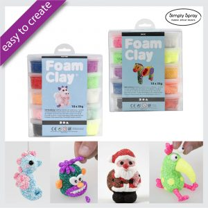 foam clay 10pc set