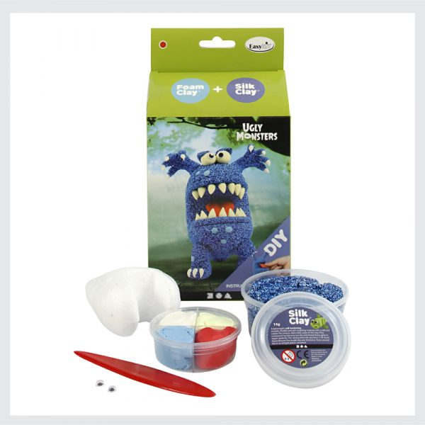 DIY-Kits-Ugly-Monsters-Blue-Modelling