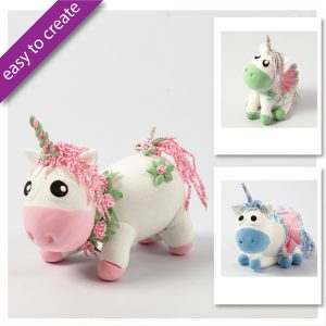 DIY Kits unicorn baby Modelling