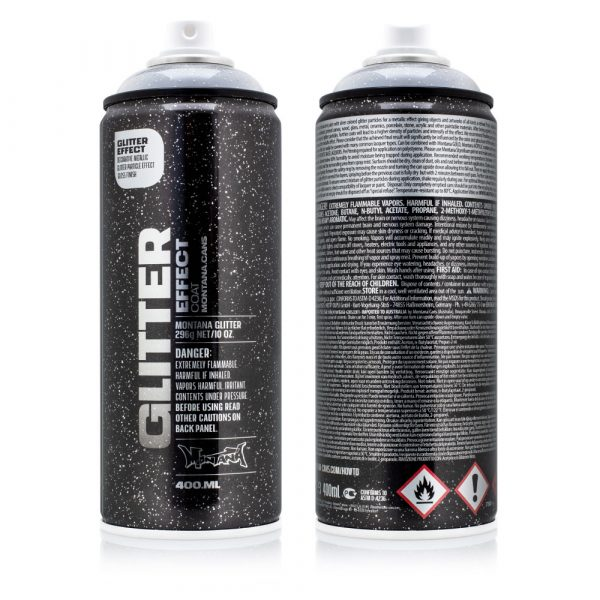 montana glitter varnish spray