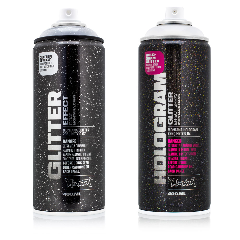 montana glitter effect spray