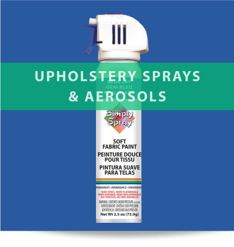 Upholstery Sprays & Aerosols