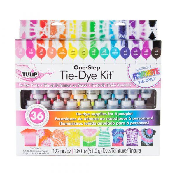 tulip tie dye kit 18 bottles set