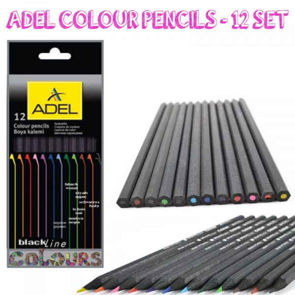 Adel Coloured Pencils set of 12