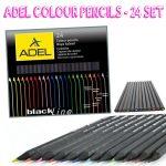 Adel Coloured Pencils set of 24