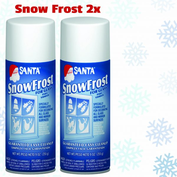 Snow Frost Spray christmas decoration