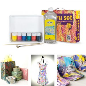 Marbling Mini Starter Set 6 Colours