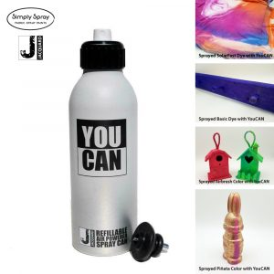Jacquard YouCAN refillable air powered spray can