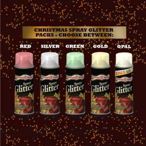 Chase Glitter Aerosol Spray Paint
