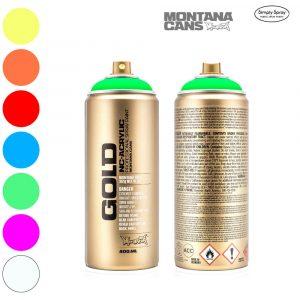 Montana Gold Acrylic Spray Fluorescent