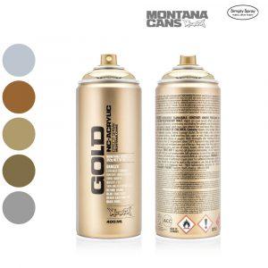 Montana Gold Acrylic Spray Metallic