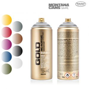 Montana Gold Acrylic Spray Transparent