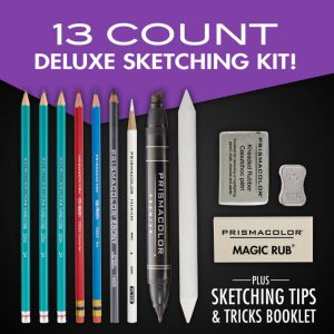 Swatch colour in the Prismacolor Premier Deluxe Sketching Set 13pc