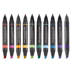 Swatch colour in the Prismacolor Premier Set of 10 Fine/Chisel Markers