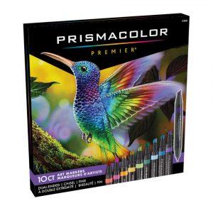 Prismacolor Premier Set of 10 Fine/Chisel Markers